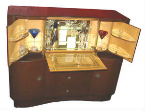 Art Deco Cocktail Cabinets Art Deco Bars Antique Bars